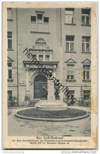 Berlin - Kreuzberg - Max Eyth-Denkmal - Geschäftshaus der Deutschen Landwirtschafts-Gesellschaft