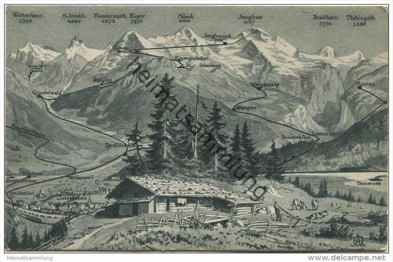 Berner Oberland - Verlag R. Gabler Interlaken