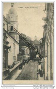 Wilna - Vilnius - Kaplica Ostrobramska - Feldpost