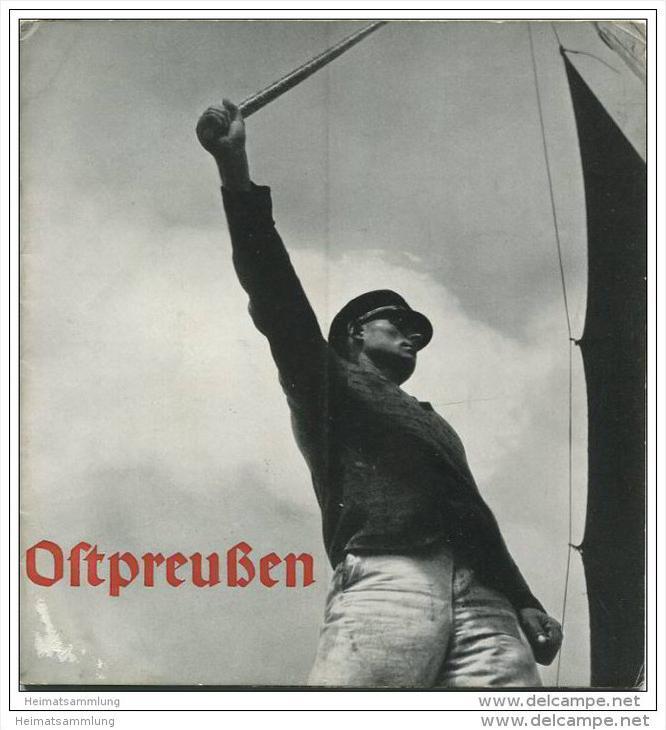 Ostpreussen 1936 - 20 Seiten mit 20 Abbildungen mit Beschreibung
