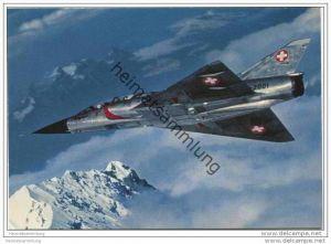 Schweizer Armee - Mirage - AK Grossformat