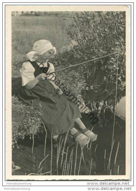 Mädchen in Tracht - AK Grossformat 40er Jahre