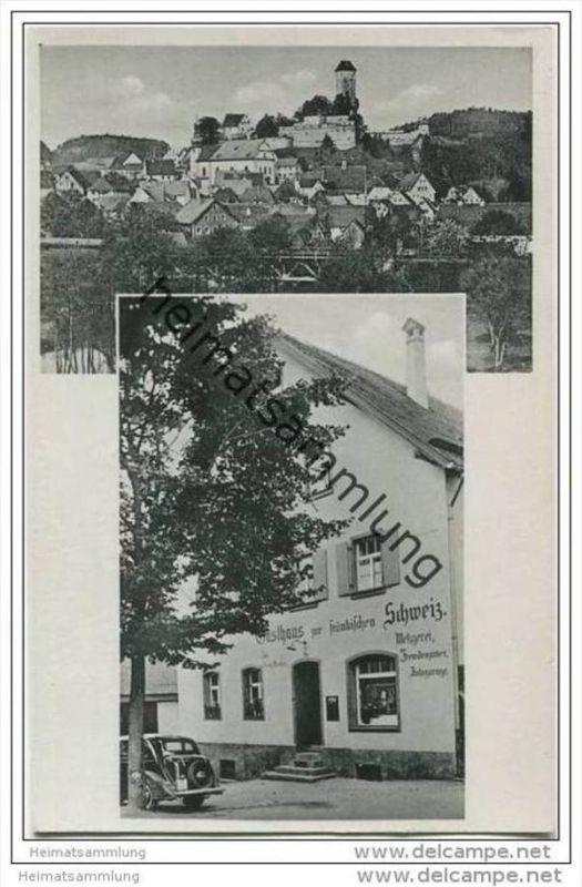Neuhaus an der Pegnitz - Gasthaus zur Fränkischen Schweiz - Besitzer Georg Munker