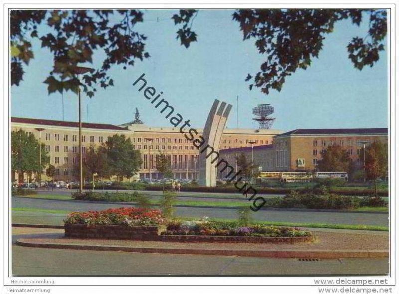 Berlin - Tempelhof - Platz der Luftbrücke - AK Grossformat
