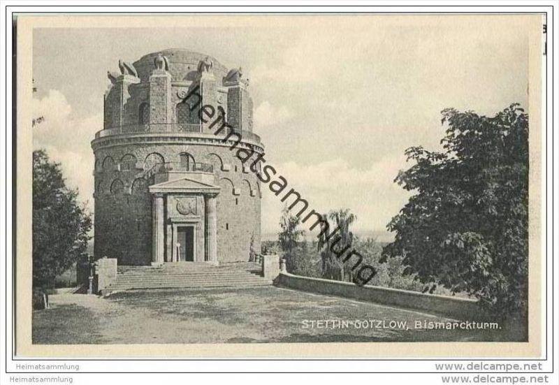 Szczecin - Stettin-Gotzlow - Bismarckturm