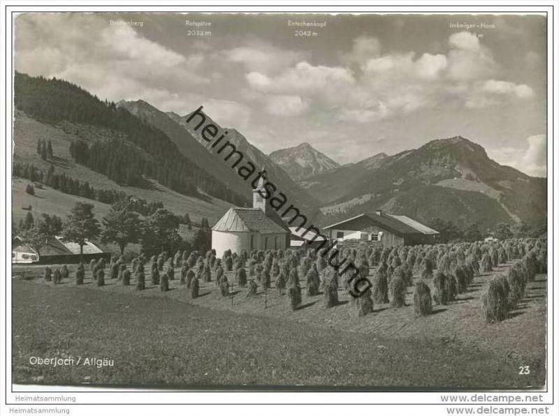 Oberjoch - Foto-AK Grossformat