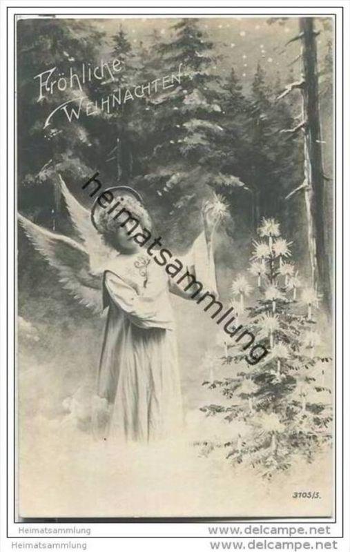 Weihnachten - Engel - Stern - Weihnachtsbaum