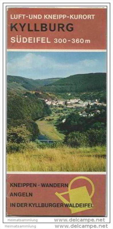 Kyllburg - Faltblatt mit 18 Abbildungen