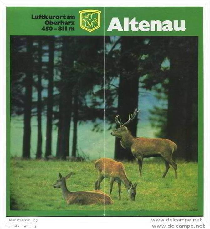 Altenau 1972 - 12 Seiten mit 33 Abbildungen - Gastgeberverzeichnis und Information 24 Seiten mit über 50 Abbildungen