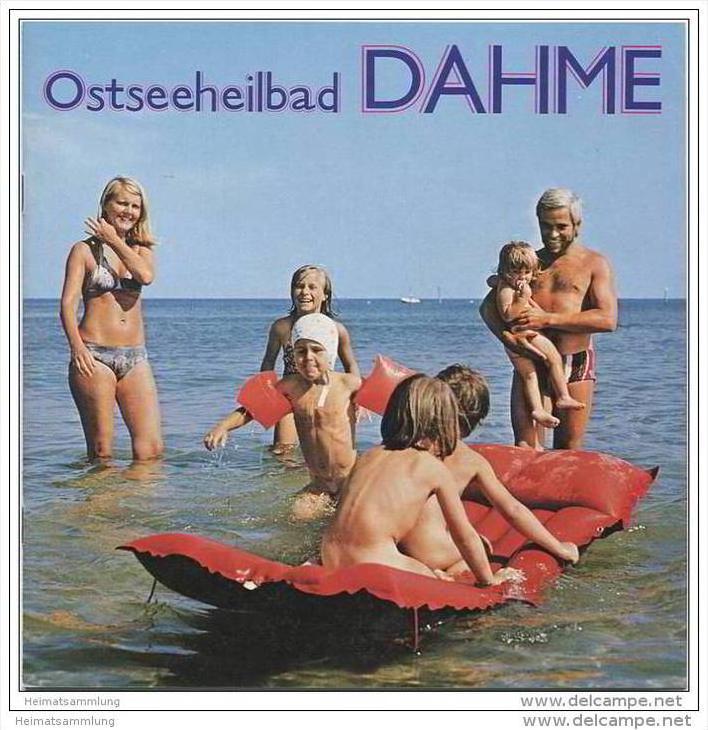 Dahme 1977 - 12 Seiten mit 42 Abbildungen - Gastgeber-Verzeichnis 40 Seiten mit vielen Abbildungen