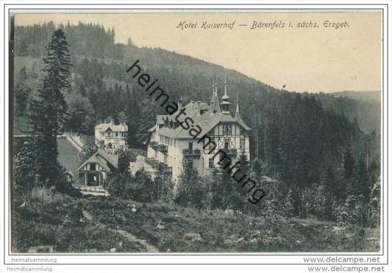 Bärenfels - Hotel Kaiserhof