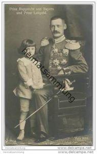 Königreich Bayern - Prinz Rupprecht von Bayern und Prinz Luitpold