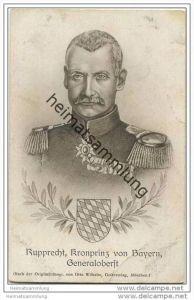Königreich Bayern - Rupprecht - Kronprinz von Bayern - Generaloberst - Kriegs-Erinnerungskarte