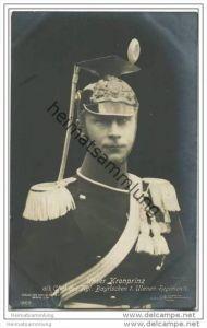 Kronprinz Wilhelm von Preussen als Chef des Königlich Bayrischen 1. Ulanen-Regiments