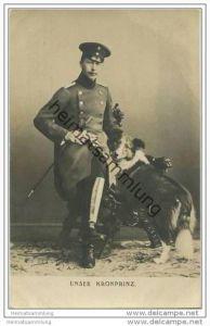 Kronprinz Wilhelm von Preussen - Hund