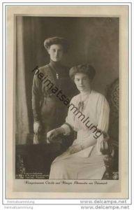 Kronprinzessin Cecilie und Königin Alexandra von Dänemark