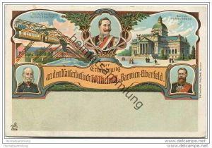 Zur Erinnerung an den Kaiserbesuch Wilhelm II. in Barmen-Elberfeld