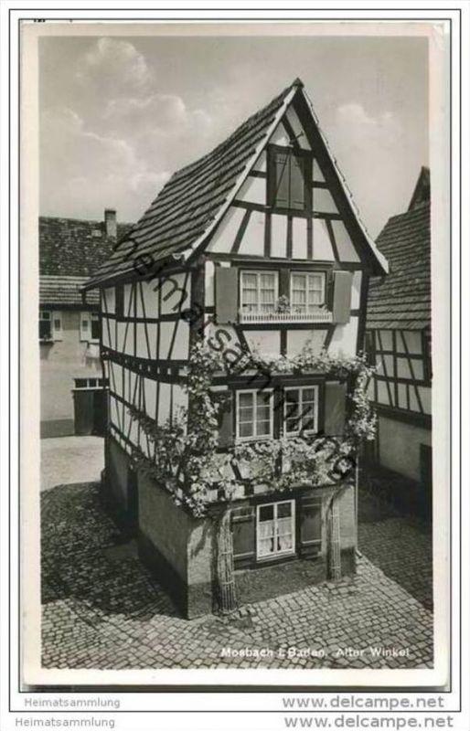 Mosbach - Alter Winkel - Foto-AK