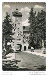 Waldshut - Oberes Tor - Foto-AK