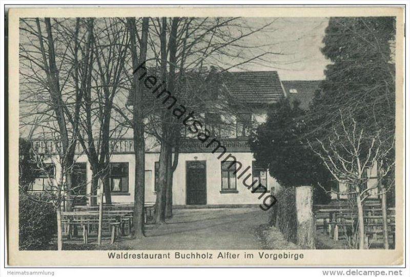 Alfter im Vorgebirge - Waldrestaurant Buchholz - Inhaber Mathias Thome