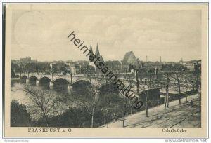 Frankfurt a. Oder - Oderbrücke