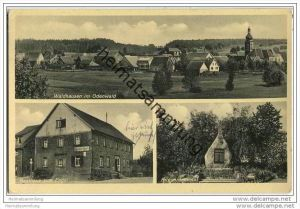 Buchen - Waldhausen - Gasthaus zum Engel - Handlung von Otto Ludwig Egenberger