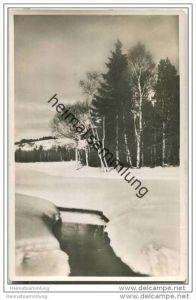 Breitnau im Winter - Foto-AK