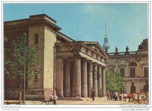 Berlin - Unter den Linden - Mahnmal für die Opfer des Faschismus und Militarismus - AK Grossformat