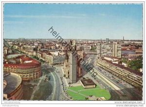 Berlin - Blick vom Europa-Center auf die Kaiser-Wilhelm-Gedächtniskirche - AK Grossformat