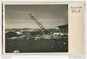 Hochrieshütte - Foto-AK 30er Jahre