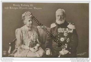 König Ludwig III. und Königin Therese von Bayern
