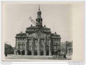 Lüneburg - Rathaus - Foto-AK Grossformat