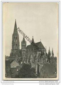 Freiburg - Münster von Südost - Foto-AK
