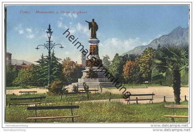 Trento - Monumento a Dante Alighieri