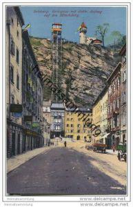 Salzburg - Griesgasse - elektrischer Aufzug