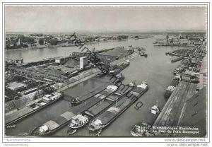 Basel - Kleinhüninger Rheinhafen - Foto-AK