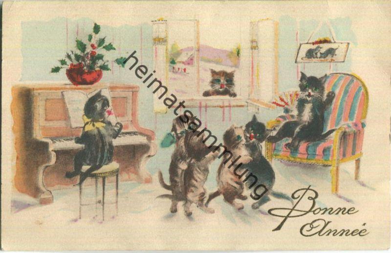 Katzenkonzert - 'Bonne Année'
