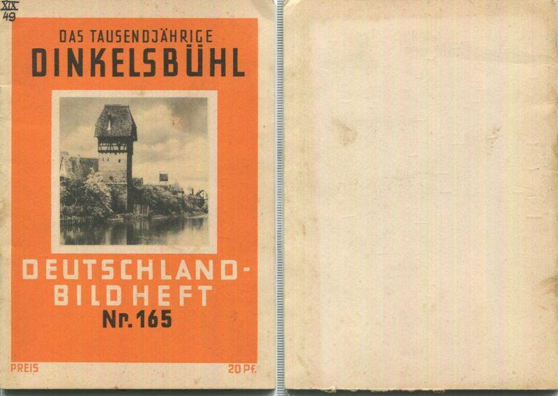 Nr. 165 Deutschland-Bildheft - Dinkelsbühl