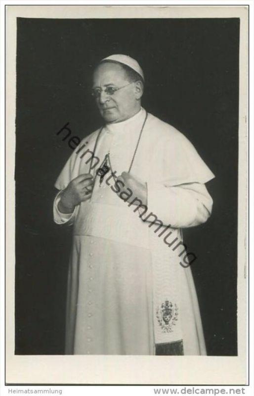 Papst Pius XI - Foto-AK 30er Jahre - Edizioni G Felici Roma