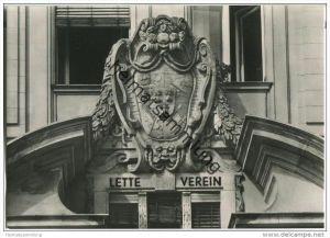Berlin-Schöneberg - Lette Verein am Viktoria-Luise-Platz - Foto-AK 60er Jahre
