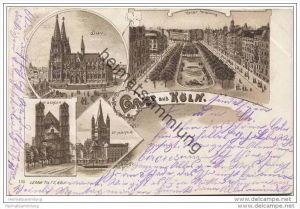 Köln - Dom - St. Gereon - St. Martin - Kaiser Wilhelmring