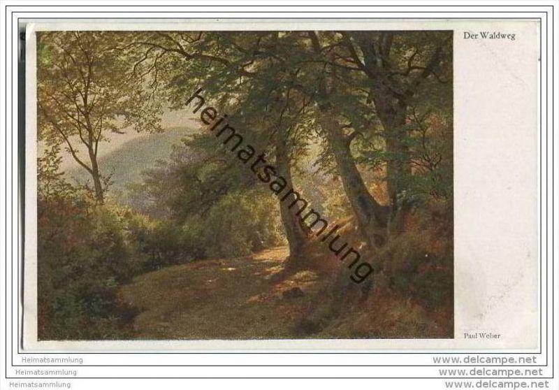Der Waldweg - Paul Weber