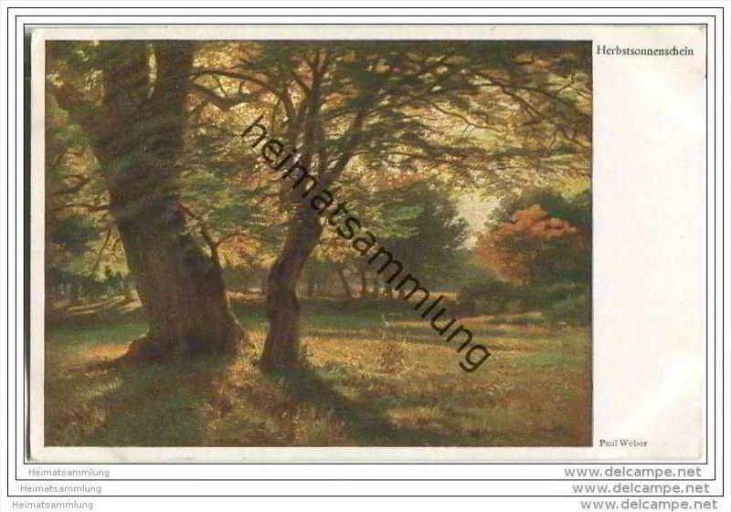 Herbstsonnenschein - Paul Weber