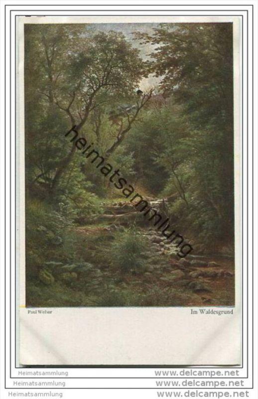 Im Waldesgrund - Paul Weber