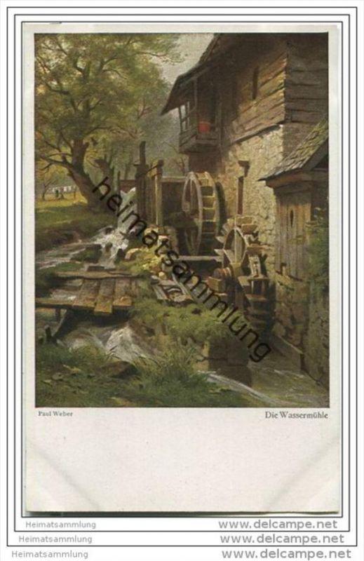 Die Wassermühle - Paul Weber