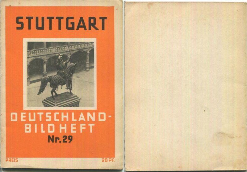 Nr. 29 Deutschland-Bildheft - Stuttgart