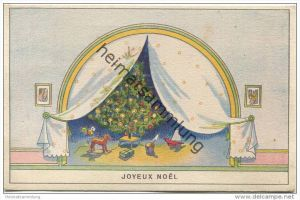 Joyeux Noel - Zensurstempel - gel. 1944
