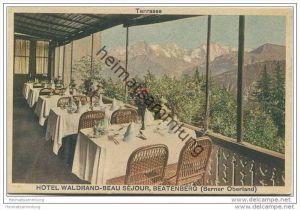 Hotel Waldrand-Beau Sejour - Beatenberg - Terrasse ca. 1920