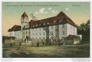 Hösel - Genesungsheim des Verbandes der Krankenkassen Düsseldorfs - Vorderfront