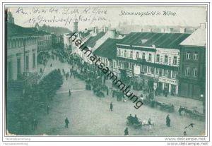 Wilna - Vilnius - Strasse - Feldpost